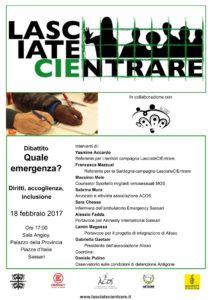 Quale emergenza? Diritti, accoglienza, inclusione migranti @ Sala Angioy, Provincia di Sassari | Sassari | Sardegna | Italia