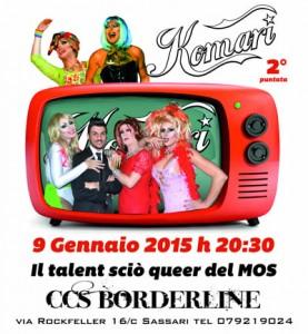 Komari: 2° puntata @ CCS Borderline | Sassari | Sardegna | Italia